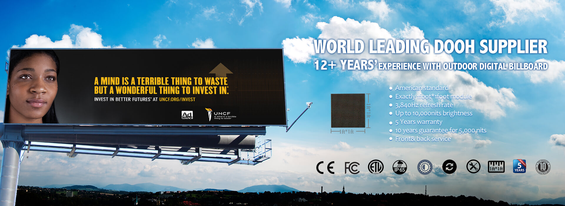 Banner 4 Outdoor Digital Billboard