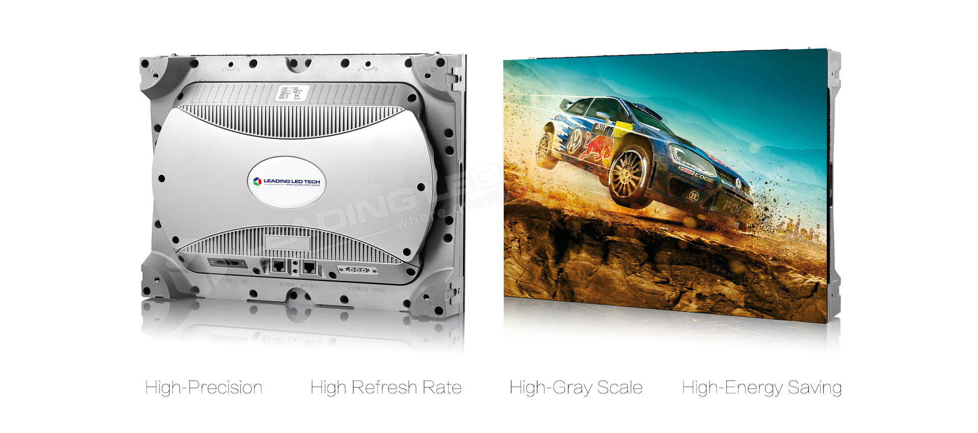 1.6/1.9/2.5mm Small Pixel Pitch Indoor 400*300 LED Video Wall Tile  LT-QHMX Series