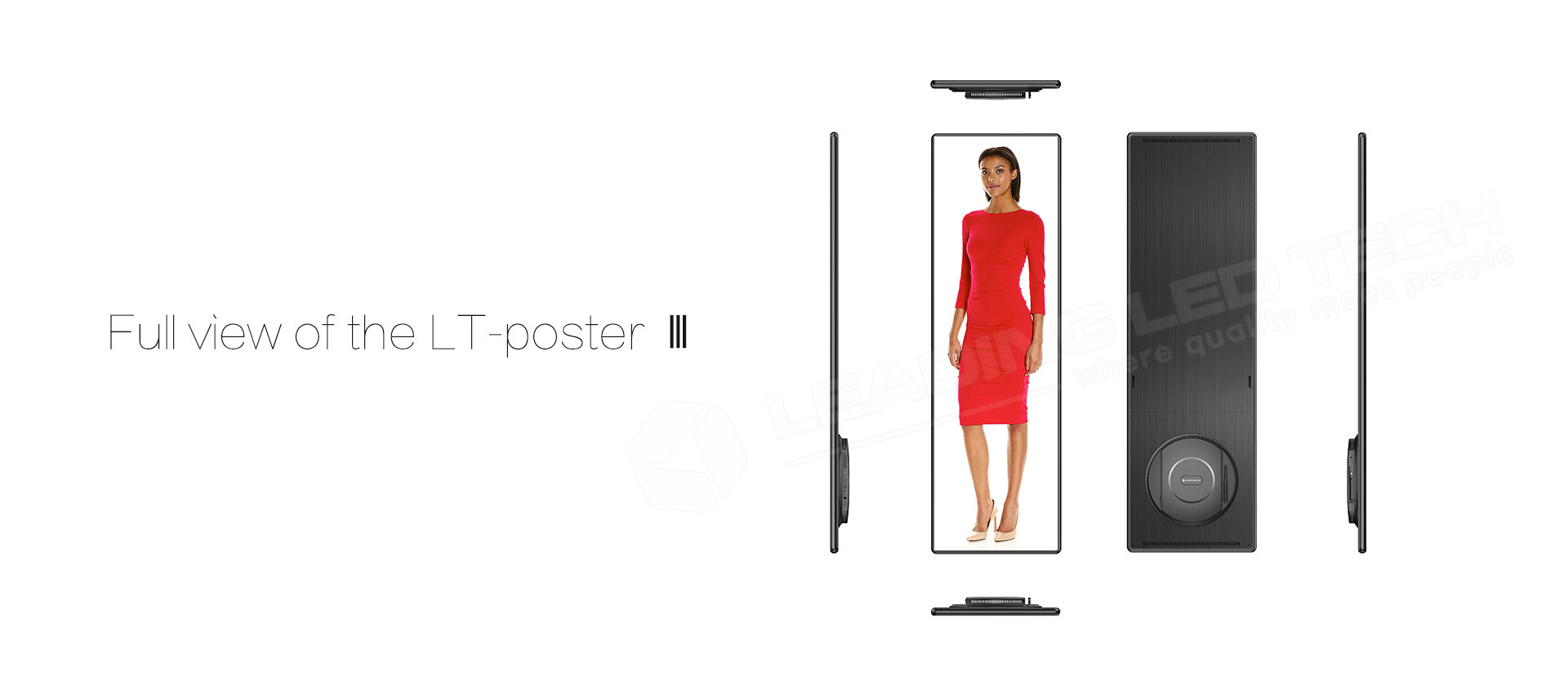 High end LED poster P2.5mm P1.6mm Pixel Pitch