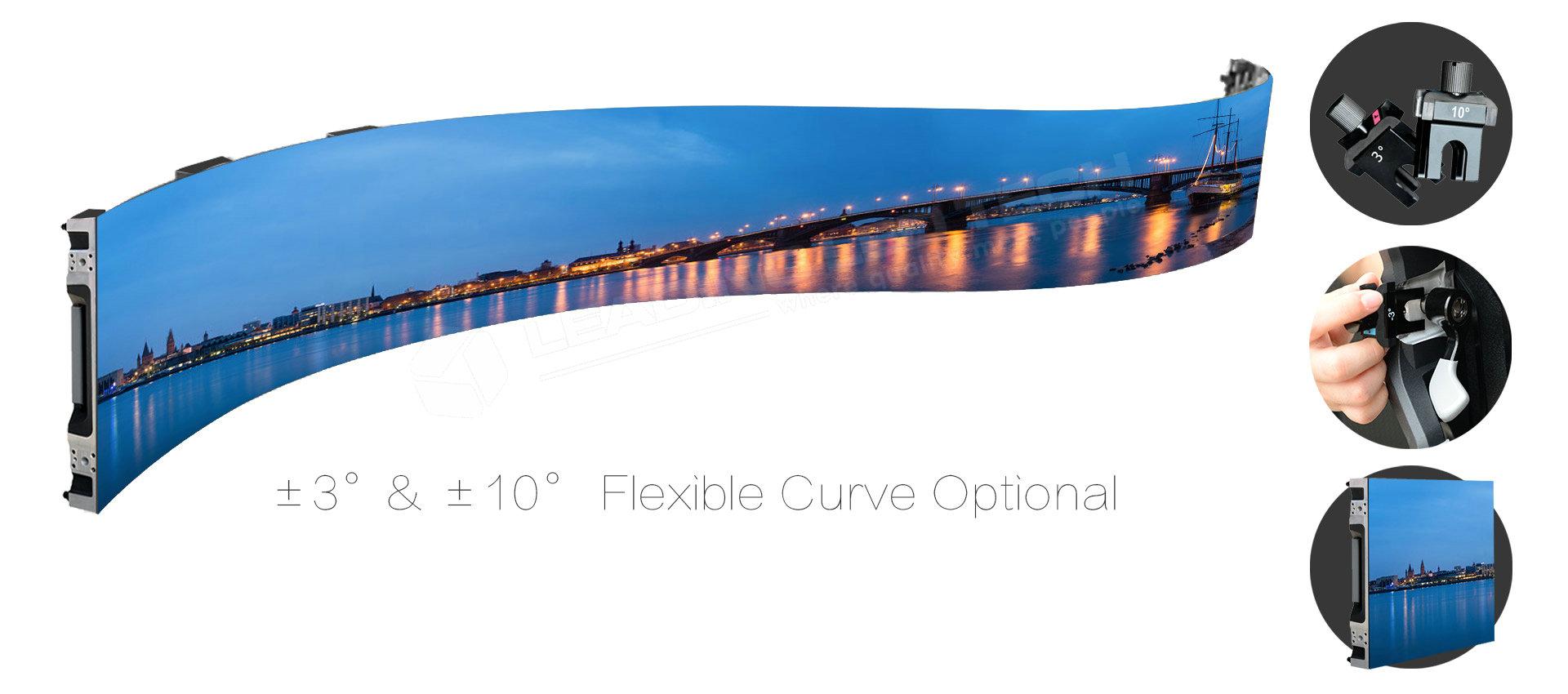 curve LED display panels 500mm*500mm