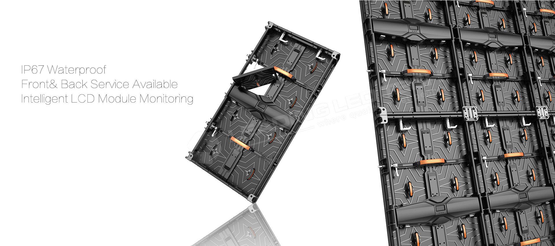 LT-RIS Series 500X1000 LED rental cabinets