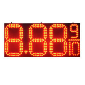 22 LT-Gas Price Sign