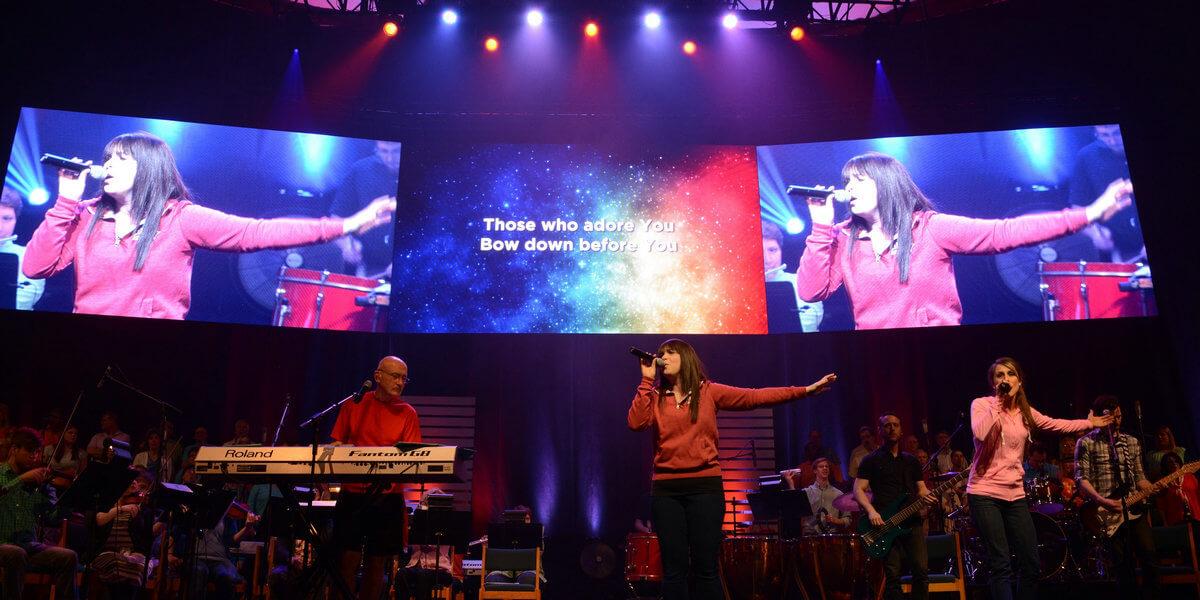 Fairhaven Church LED Screen Hire