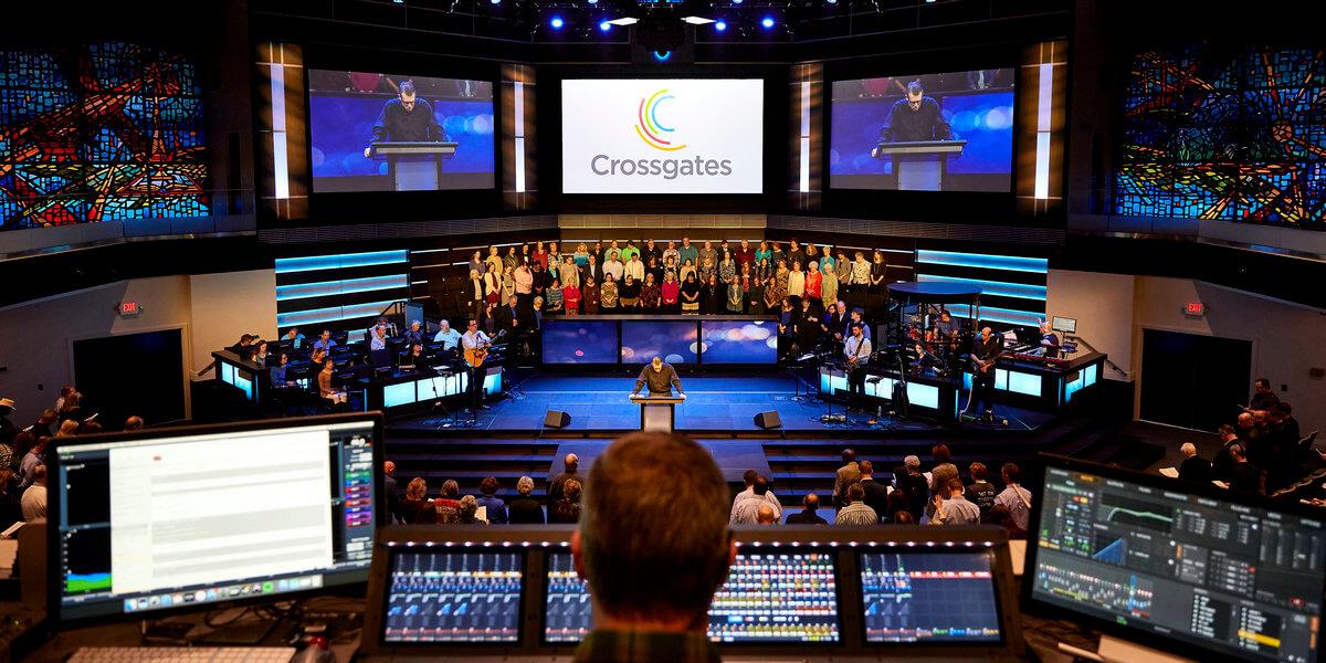House of Worship LED Display Screen Rental Paragon 360 Brandon