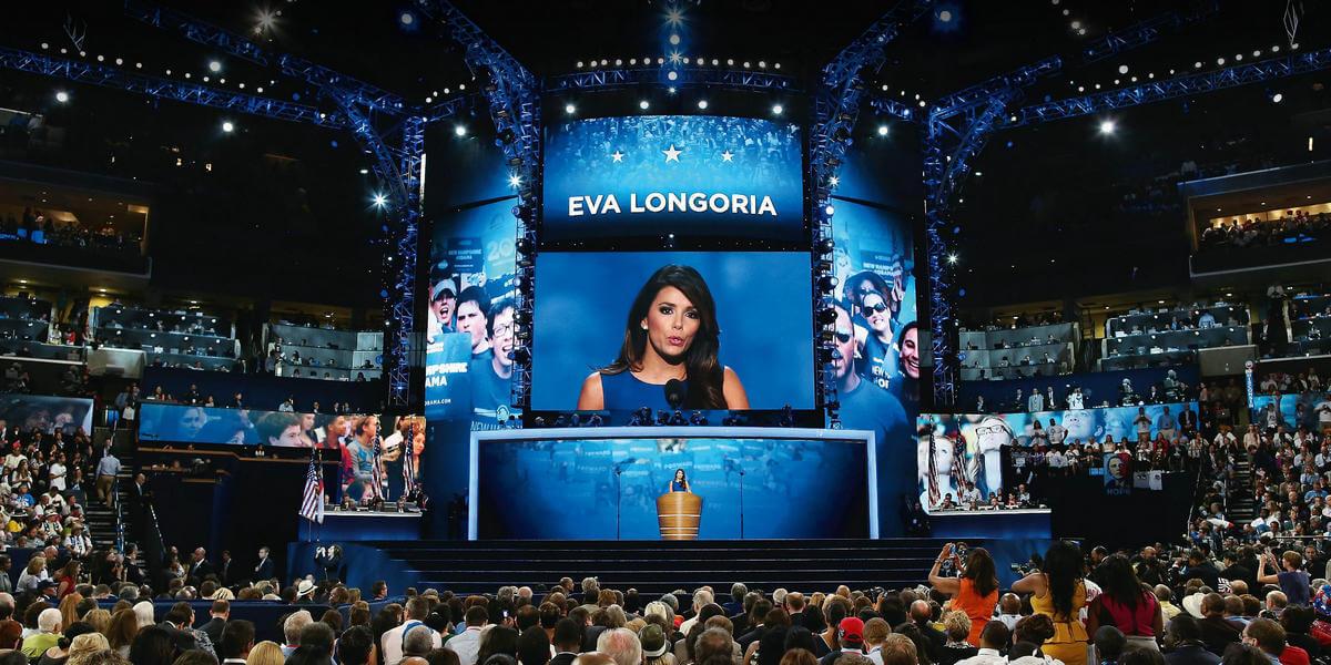 LED Display for Eva Longoria