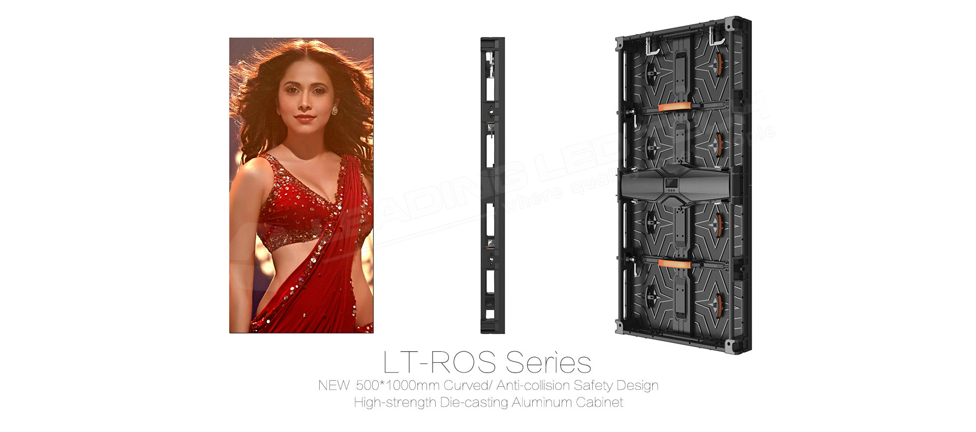 LT-ROS 500*100mm Outdoor rental LED cabinet