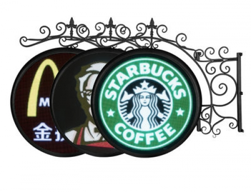 Logo LED Display Outdoor Application