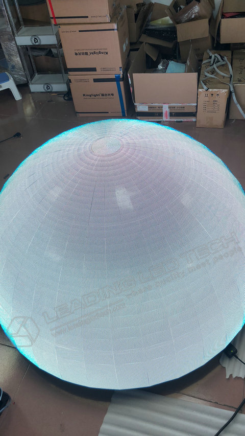 Sphere LED Display-LED ball display manufacture-White