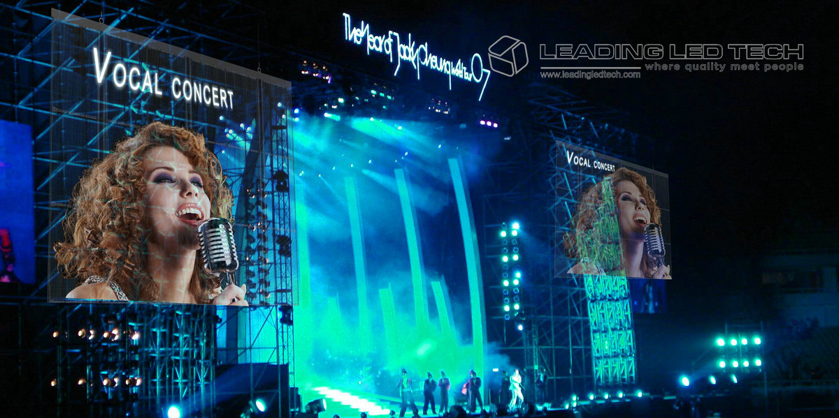 suppler high Transparent LED Display for events_
